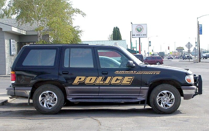 Ford Explorer Airway Heights PD, Washington, October