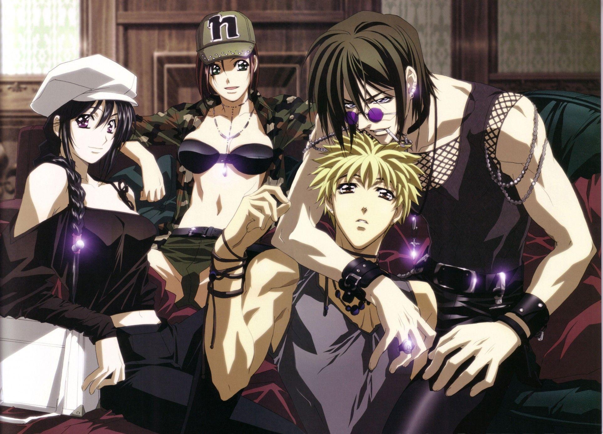 Anime Getbackers Wallpaper #anime #manga   character art ...