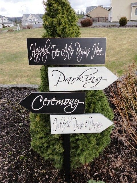 beach wedding signs five customized directional signs with arrows wedding ceremony i dos or celebration welcome to our love story