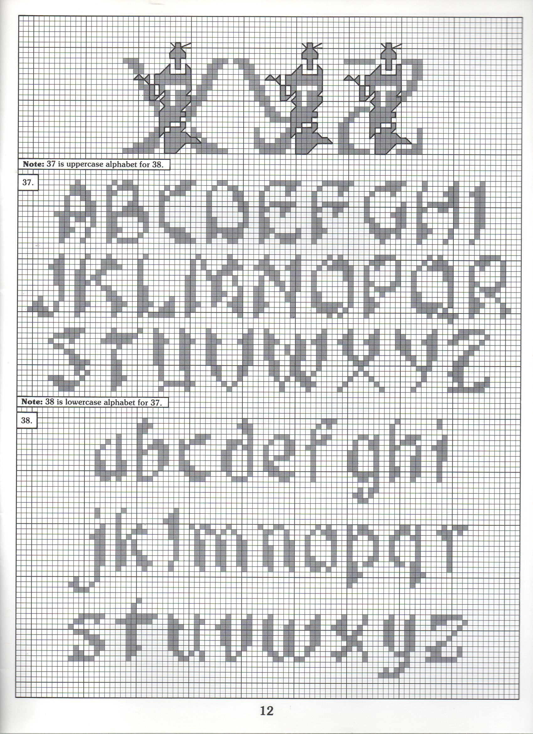 Cross Stitch Alphabet Patterns Custom Inspiration Ideas