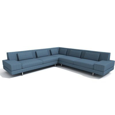 Truemodern Hamlin Sectional Orientation Right Hand Facing Body