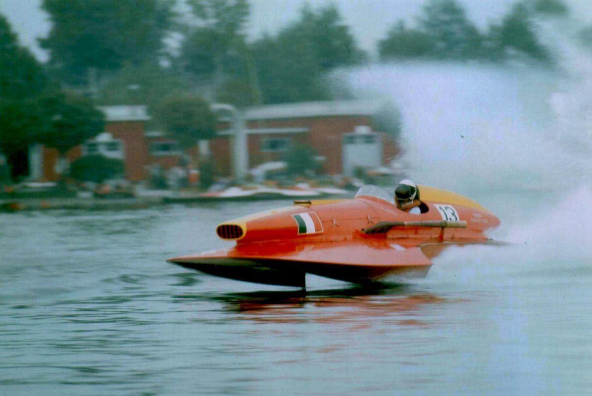 Timossi 13 (1958) Three Point Hydroplanes Italia