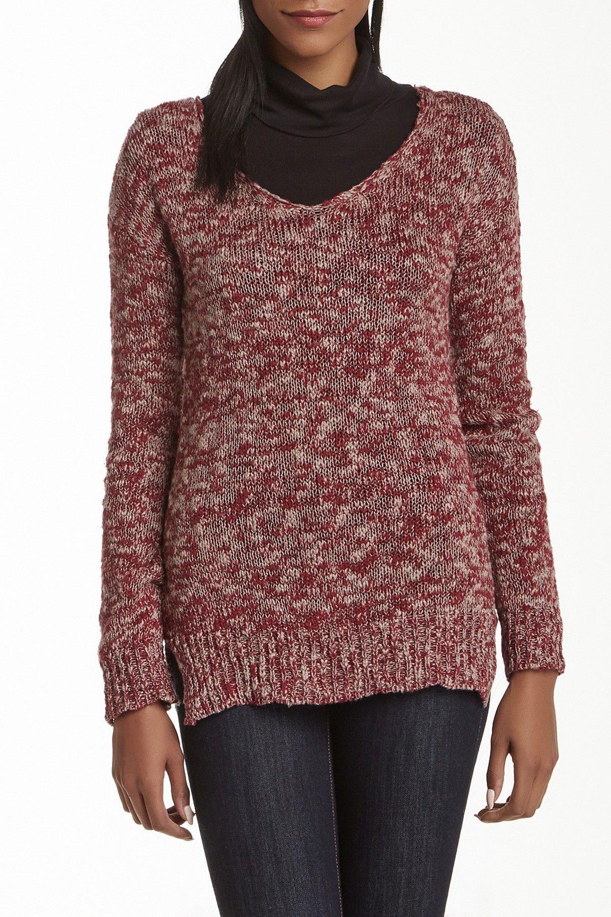 Slub Marled Sweater (Juniors)