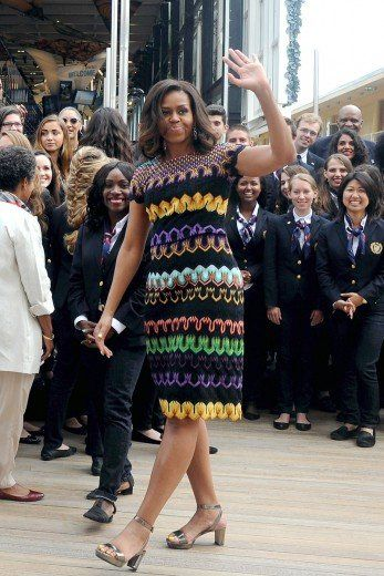 9105f05aeb3ce Michelle Obama's Best - Michelle Obama's Best Style Moments of All Time