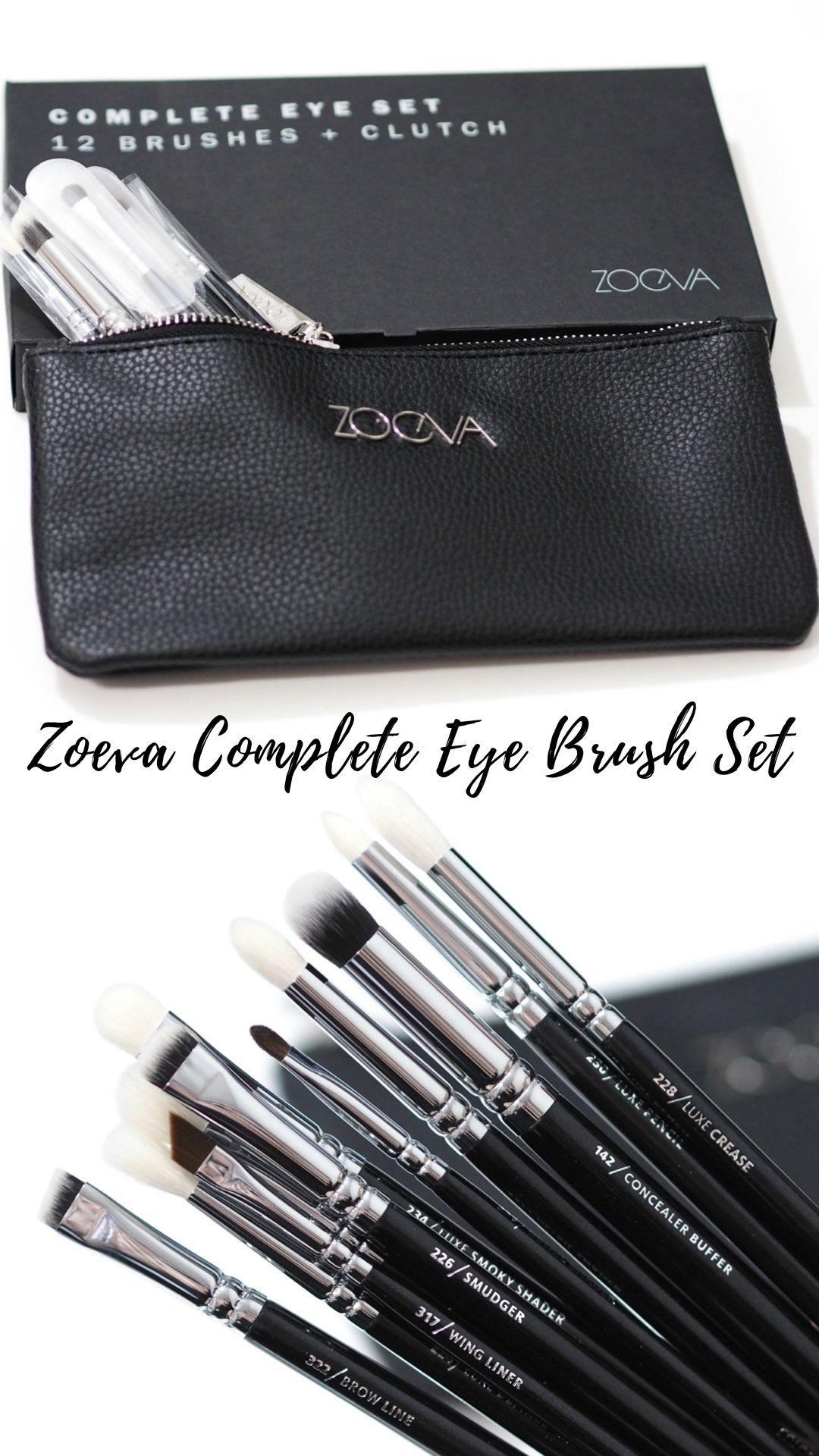 Zoeva Complete Eye Brush Set Review Eye brushes, Eye