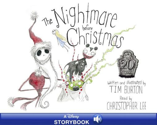 The Nightmare Before Christmas Read Along Book 2020 Pin by Sherry Mulholland on Holidays in 2020 | Nightmare before