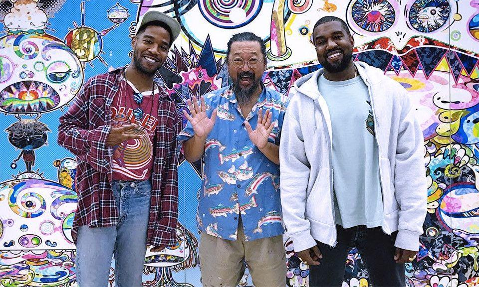Kanye West Kid Cudi Tap Takashi Murakami For Album Artwork Kanye West Kids Kid Cudi Kanye West