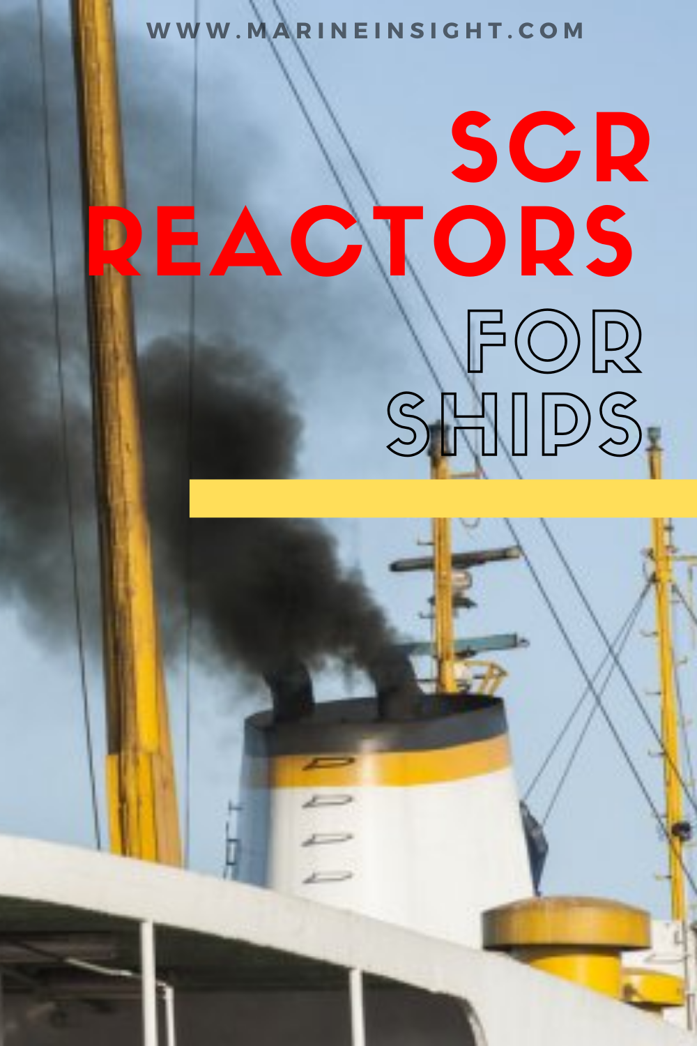Selective Catalytic Reduction Scr Reactors For Ships Types Working Principle Advantages And Disadvantages Greenhouse Gases Marine Pollution Nitrogen Dioxide