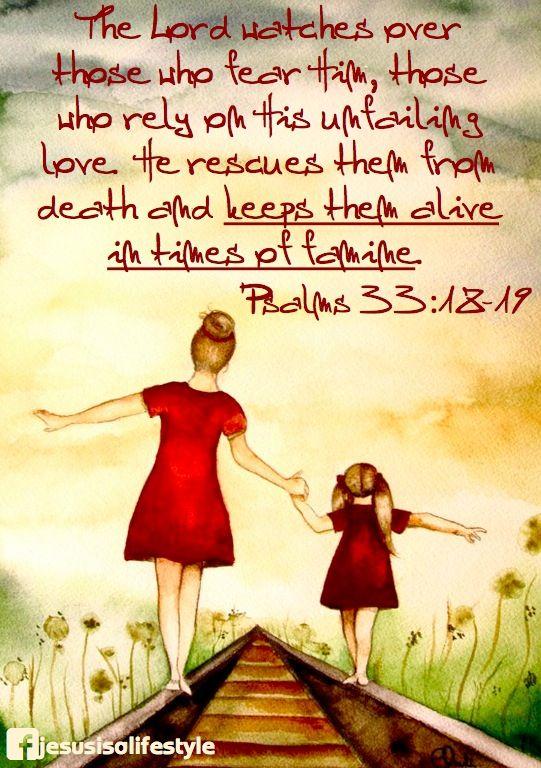 Psalms 33:18-19