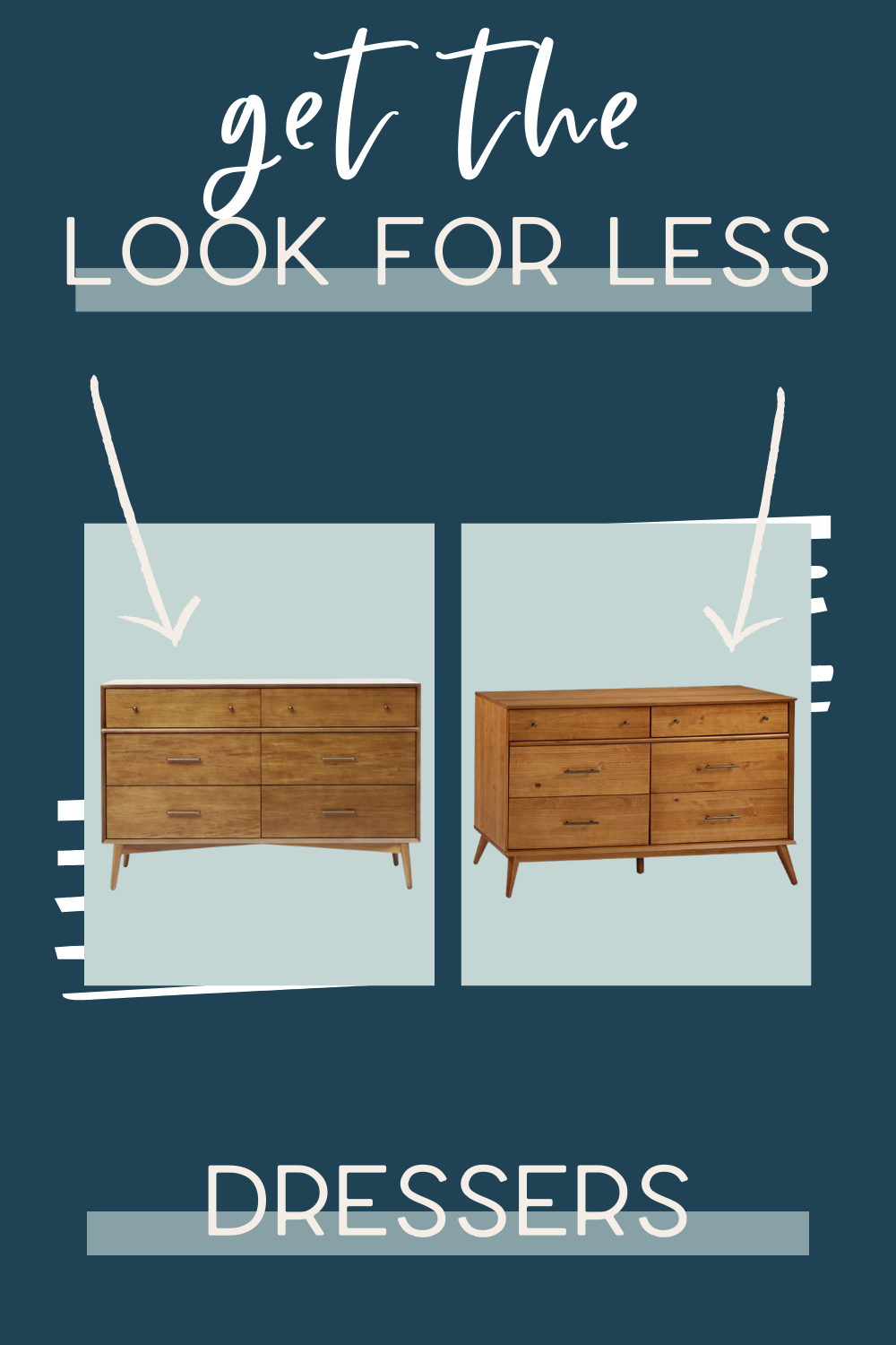 Get The Look For Less Dressers In 2020 Beautiful Bedrooms Wood Feature Wall Get The Look