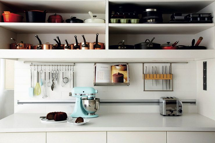 Hafale Kitchen Rail System For Its Versatility. The Different Racks Can Be  Taken Off And