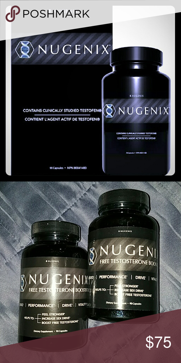 2 Brand New Bottles Nugenix 180 Capsules You are purchasing 2 Brand new unopened bottles of