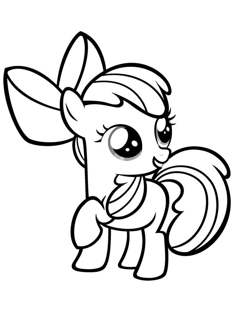 Print Rainbow Dash Coloring Pages My Little Pony Coloring Horse