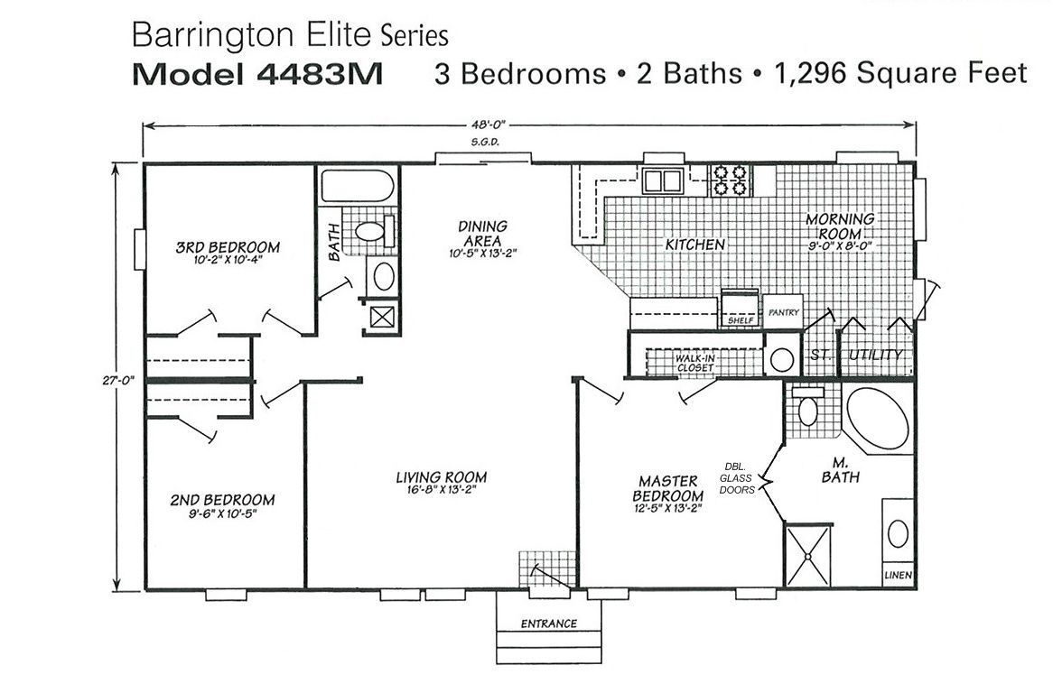Nice Mobile Homes Plans Mobile Home Floor Plans