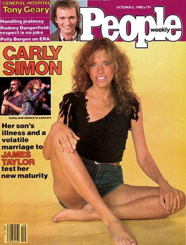 People Magazine Cover Carly Simon 1980 Carly Simon People Magazine Carly