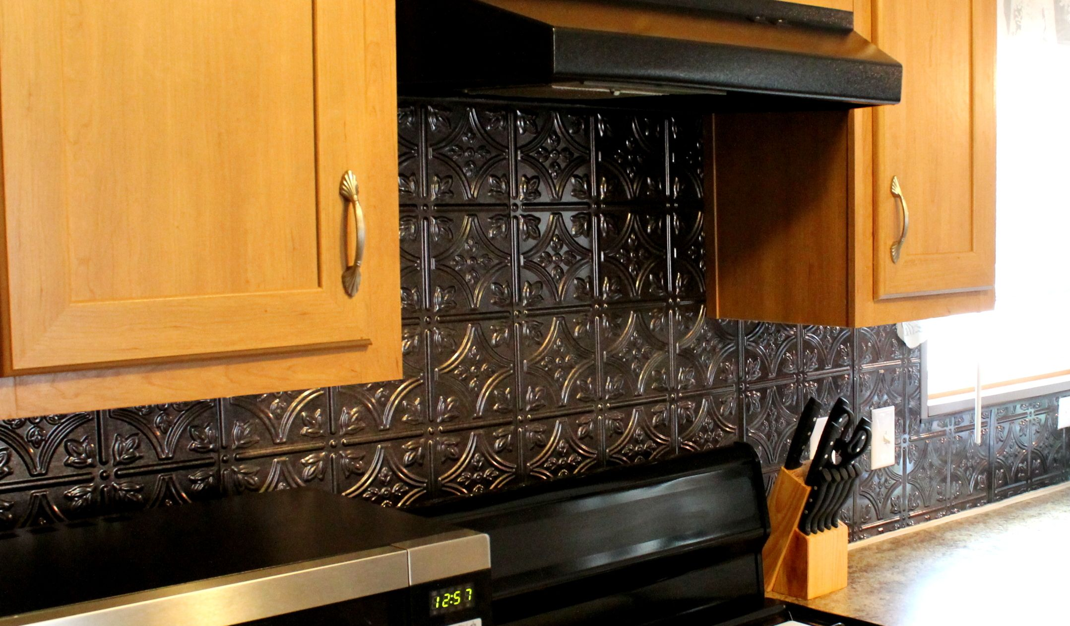 - Whole Kitchen Backsplash. This Is A Fasade Product Found At