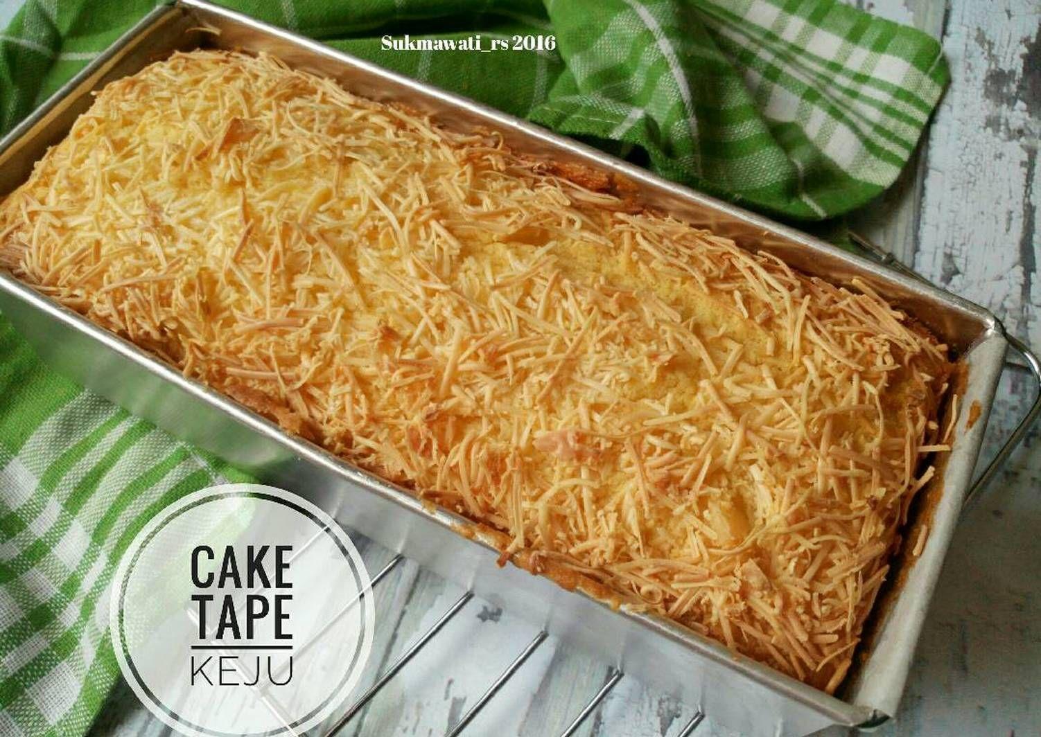 Resep Cake Tape Keju Oleh Sukmawati Rs Resep Resep Masakan Makanan Dan Minuman Masakan