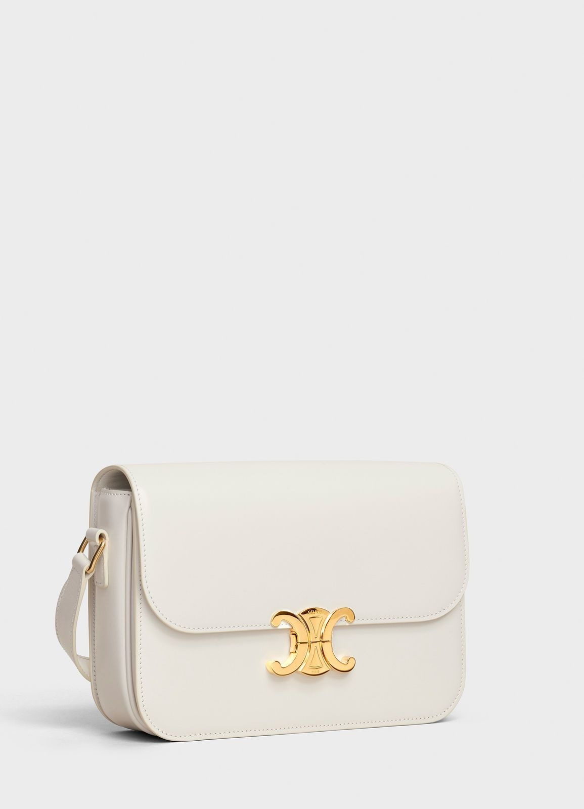 854f01c0473 Medium Triomphe Bag in Shiny Calfskin   CELINE   Celine   Pinterest ...