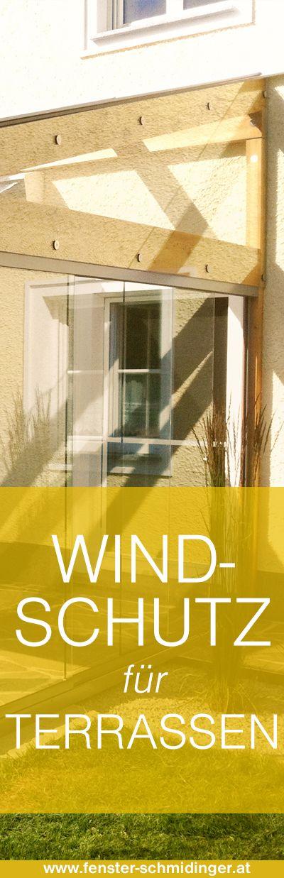 Windschutz & Sichtschutz für Terrasse und Balkon