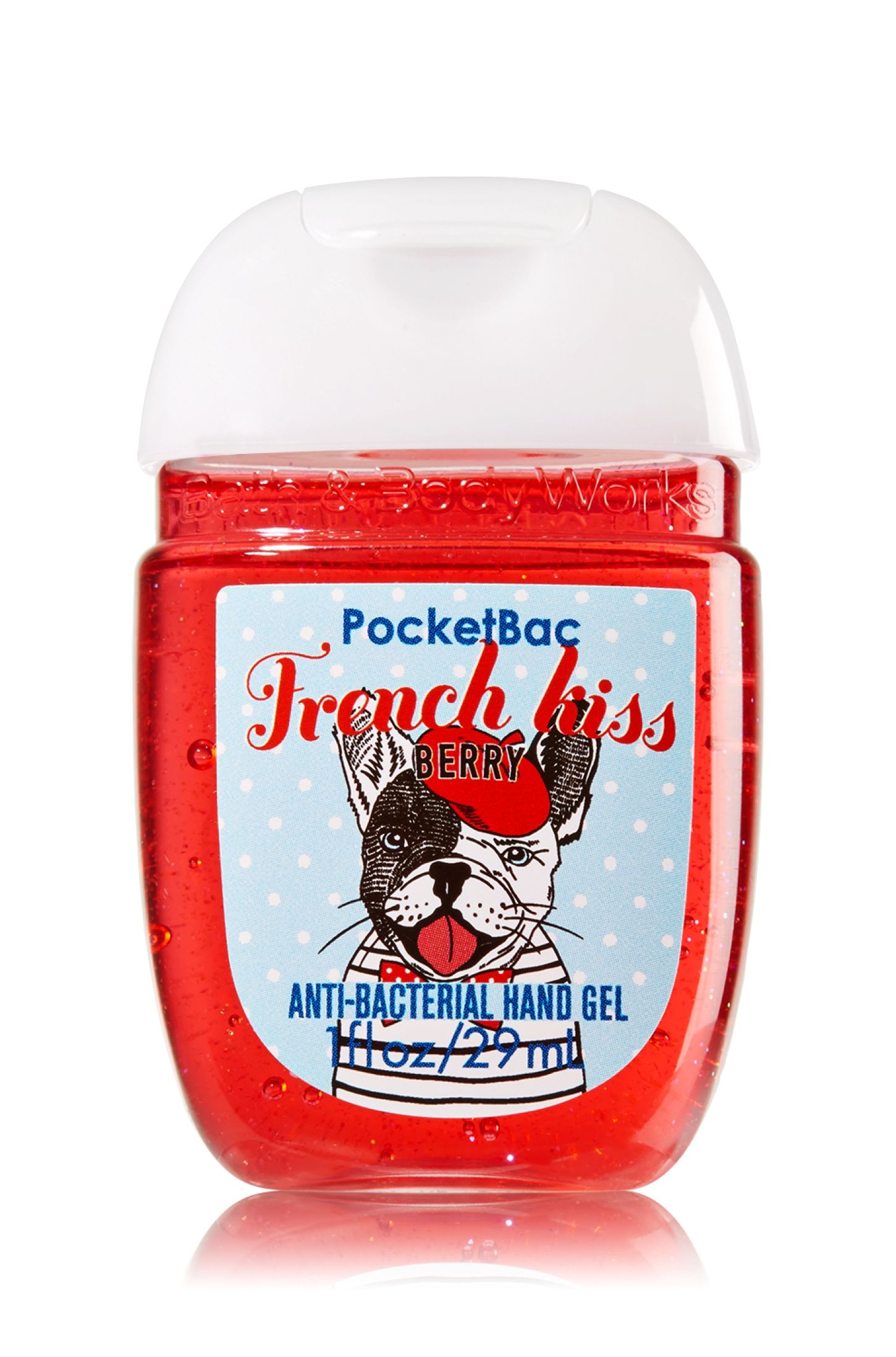 French Kiss Pocketbac Sanitizing Hand Gel Soap Sanitizer Bath