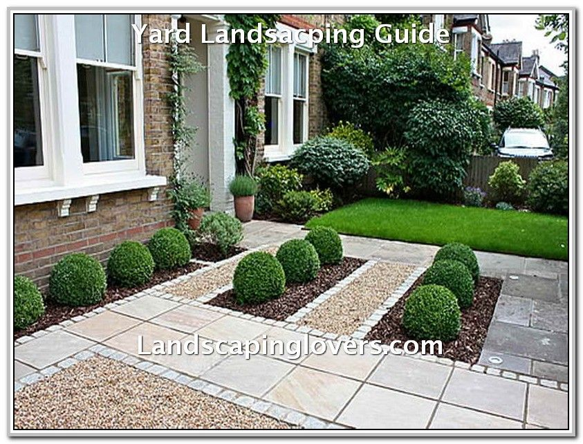 Easy Tweaks To Improve Your Landscaping Landscaping Lovers Small Front Gardens Front Yard Garden Front Garden Design