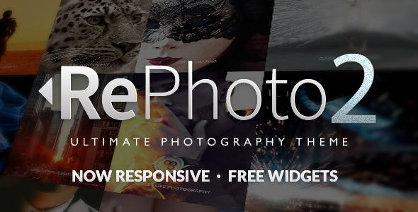 RePhoto - Photography Muse Template   Photography themes, Template ...