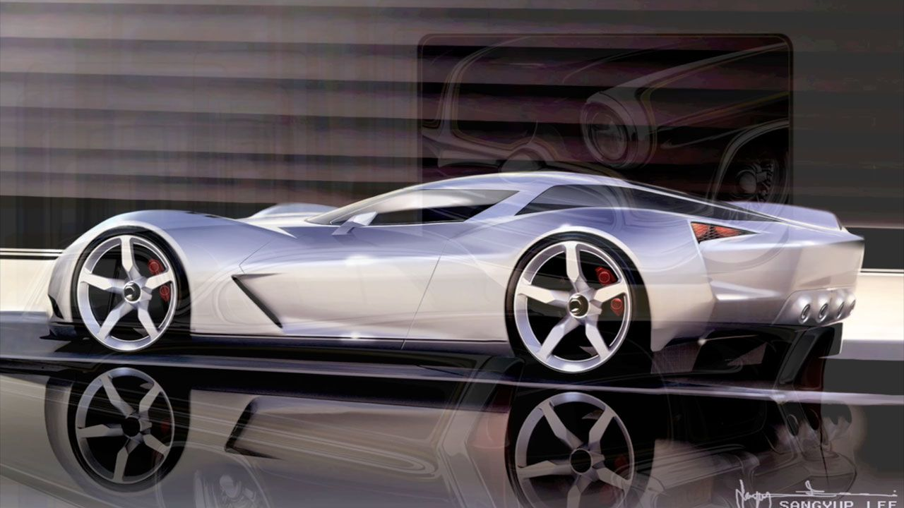 Corvette Stingray Concept  Stingray corvette Cars and 1