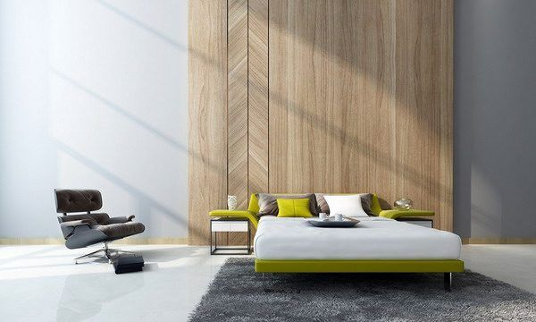 Schlafzimmer Wand Design Trends 2019: 10 Kreative Ideen #badezimmer  #tapeten #grau #streichen #wandgestaltung #wohnzimmer  #schlafzimmergestalten #deko # ...
