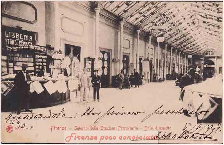 Quale stazione è questa cartolina? La Maria Antonia(1844/48) oppure quella di Campo di Marte(1896)?#Firenze.