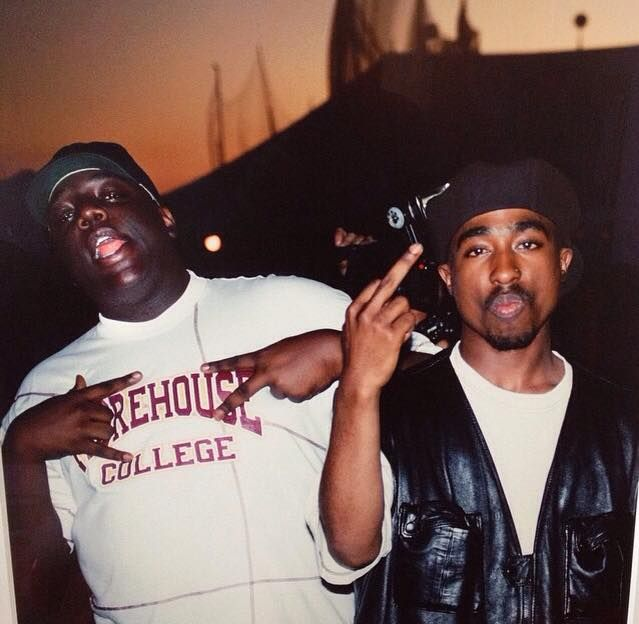 Biggie & Tupac. Would have loved to hear them make an album together.