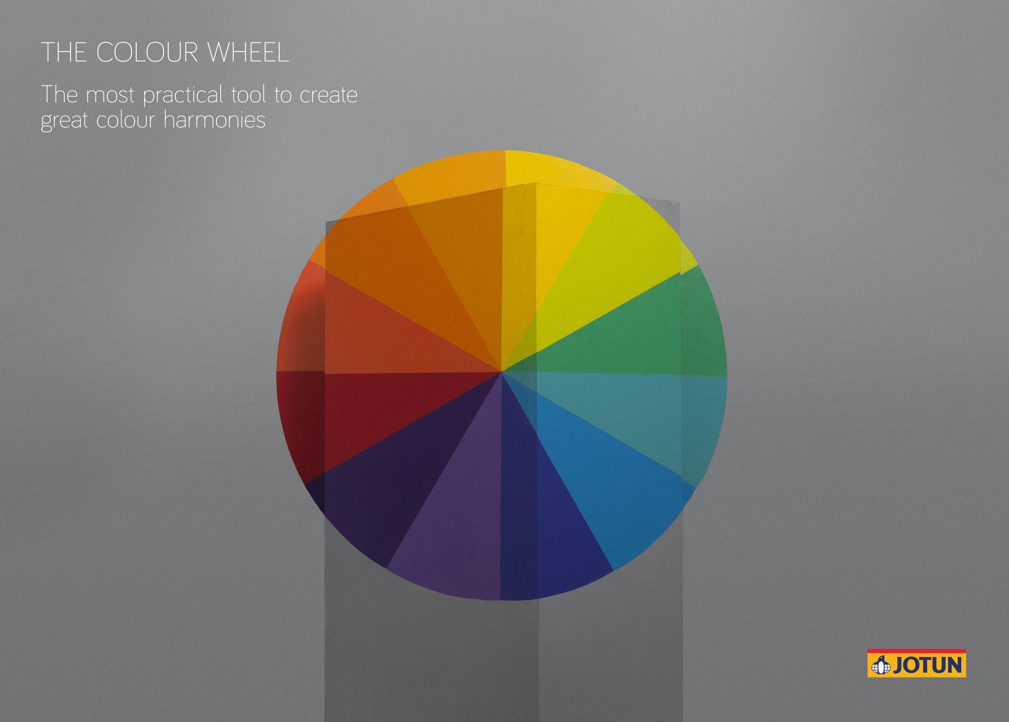 The Colour Wheel | Infographics: Colour and Space by Jotun ...