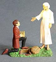 Joseph Receives The Plates Action Figure