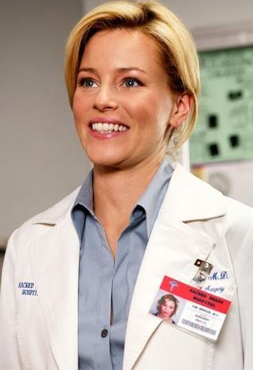 The Hottest Tv Doctors Everywhere Dailycandy Elizabeth Banks Tv Doctors Scrubs
