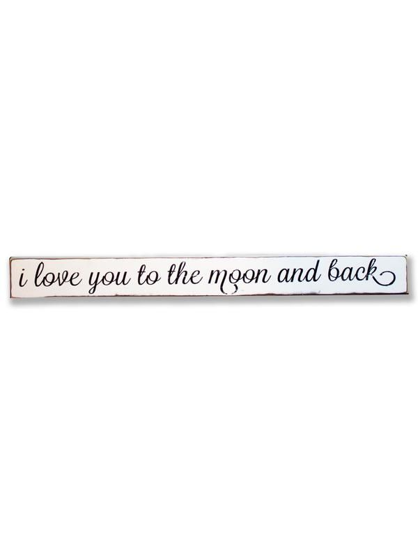 i love you to the moon and back sign by barn owl primitives - Barn Owl Primitives