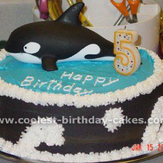 Shamu cake ;)