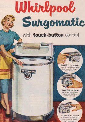 Tool Box Magnet 1950/'s Vintage Whirlpool Surgomatic Ringer Washer Refrigerator