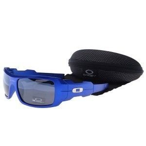 fabad99d82e Cheap Oakley Oil Rig Sunglasses smoky lens blue frames sale on oakley outlet .