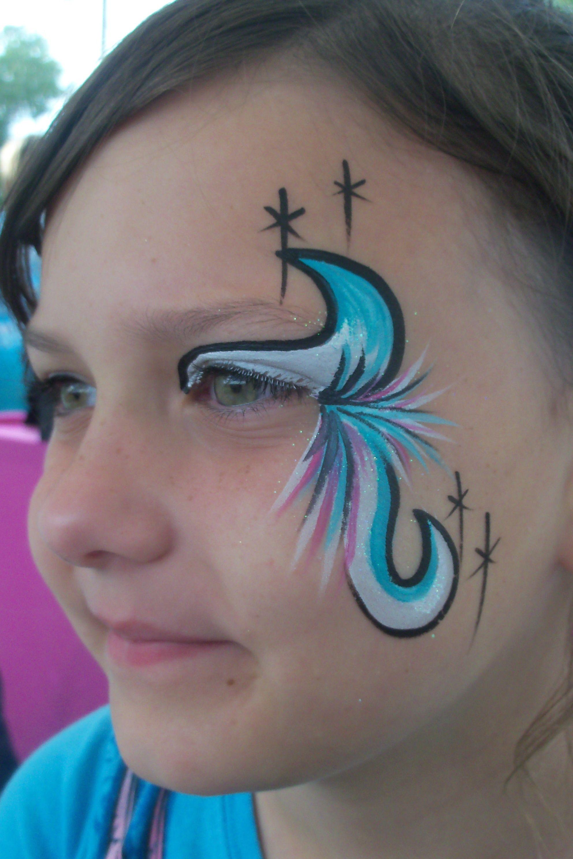 Fancy faces in okc face painting face face design