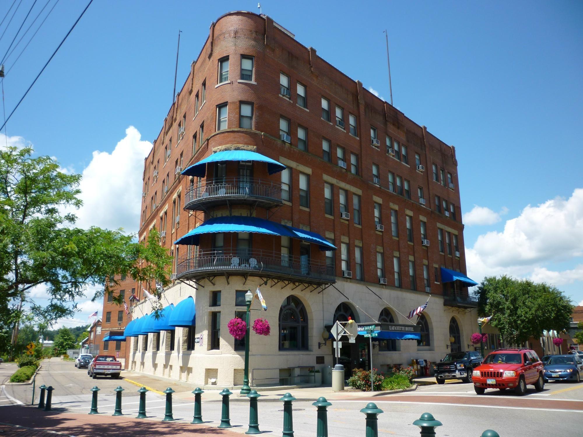 Lafayette Hotel Marietta Ohio Voices And Footsteps Have Been Heard In Empty Hallways