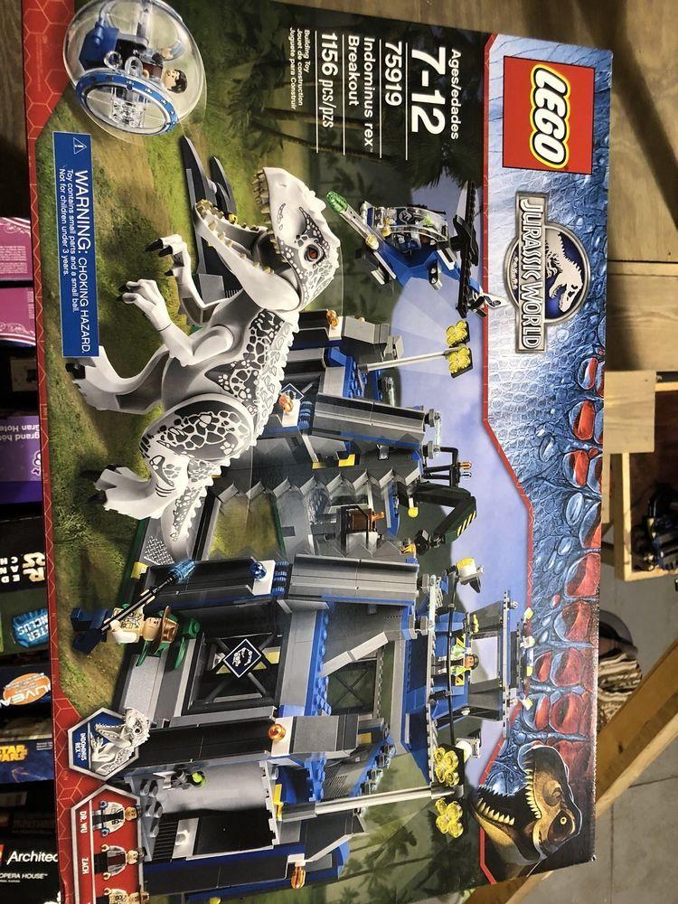 New LEGO Jurassic World 75919 Indominus Rex Breakout Dino
