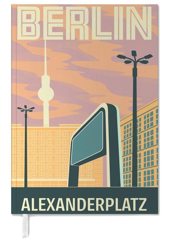 Berlin Alexanderplatz Sonnenuntergang Personal Planner Juniqe Uk Poster Berlin Online Posters