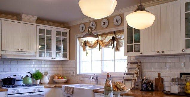 visillos cocinas modernas Decoracion Pinterest Visillos - cortinas para cocina modernas