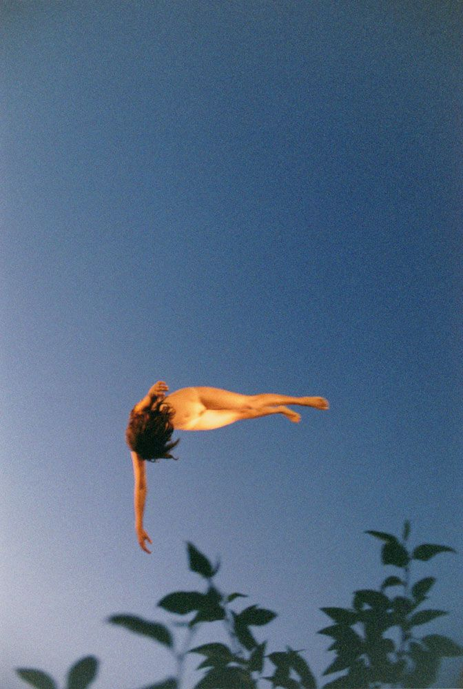 by ryan mcginley - Fall Away (Leaves), 2009