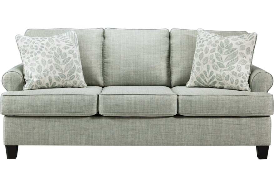 Kilarney Transitional Queen Sofa Sleeper By Ashley Signature Design At Johnny Janosik In 2020 Queen Sofa Sleeper Sleeper Sofa Cushions On Sofa