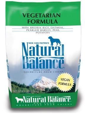 Natural Balance Vegetarian Formula Dry Dog Food 4.5 lbs