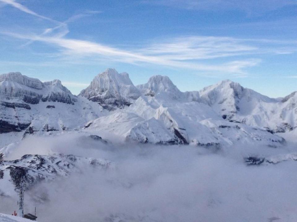 Formigal Estación De Esquí Estaciones De Esqui Montañas Con Nieve Huesca