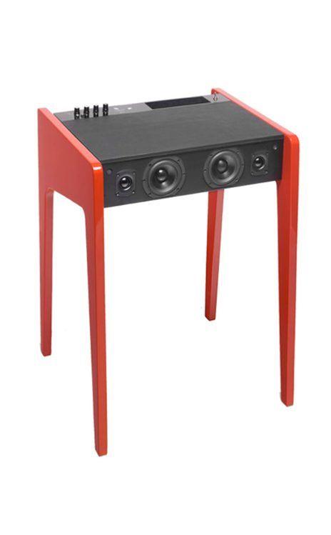 Men who love their electronic gadgets would love this La Boite Concept + CC LAB Hi-Fi Soundsystem