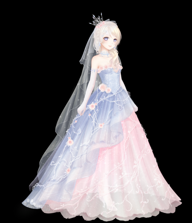 Beautiful Anime Wedding Dress u2013 fashion dresses