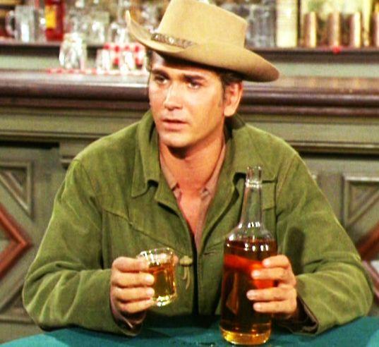 Image result for Michael Landon drinking