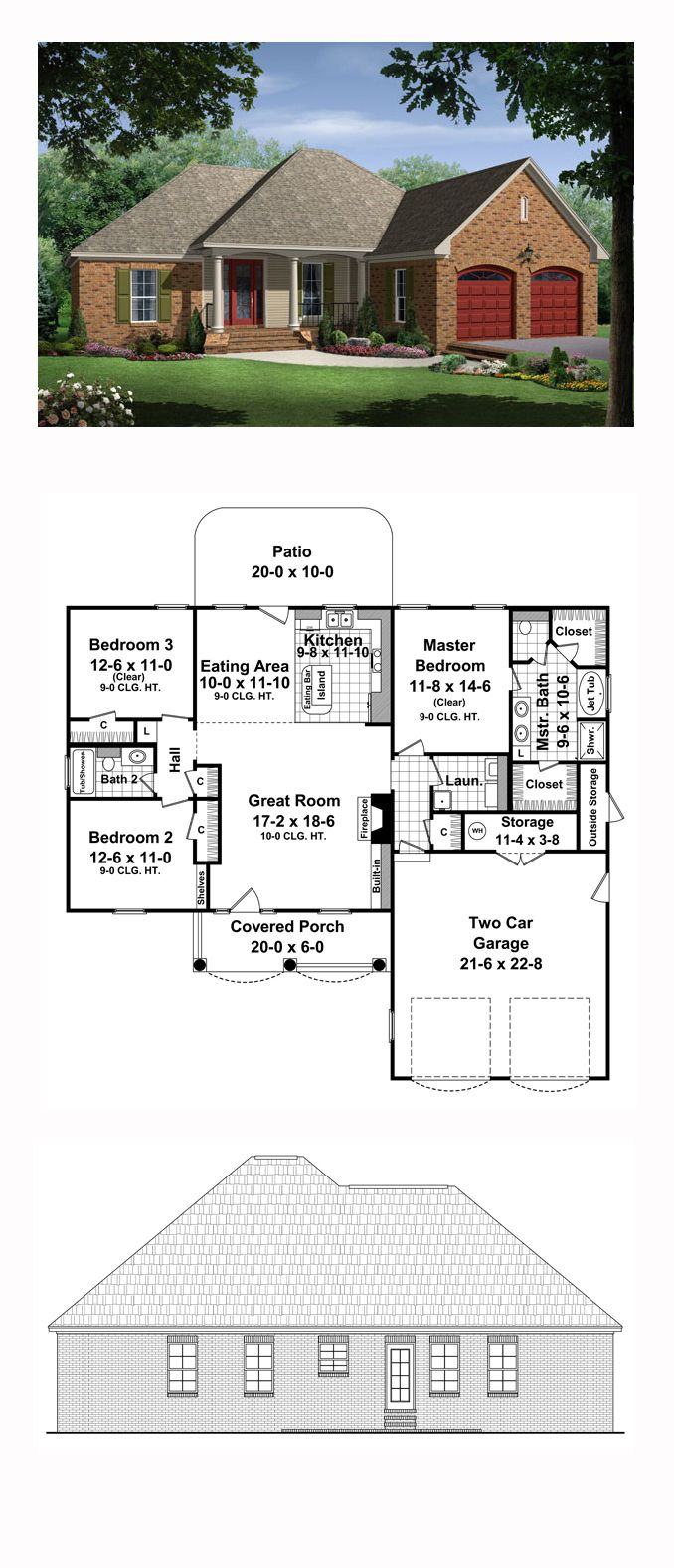 European style cool house plan id chp total living area also rh pinterest
